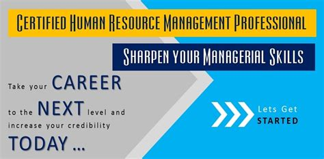 Mba In Human Resource Management In Pakistan by Human Resource Management Certificate Programs