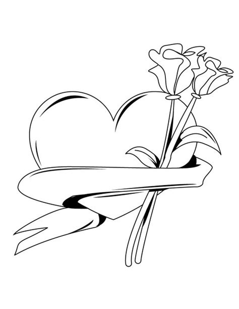 free coloring pages love hearts coloring pages