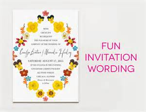 wedding invitation wording creative and traditional a practical wedding a practical wedding
