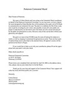Sample Letter For Charity Sponsorship charity sponsorship letter template sponsorship donation letter get