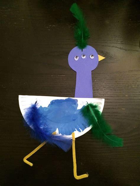 paper plate bird craft toddler craft paper plate bird hugs are