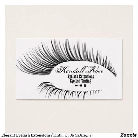 Eyelash Business Cards Templates by Eyelash Extension Business Cards Uk Arts Arts