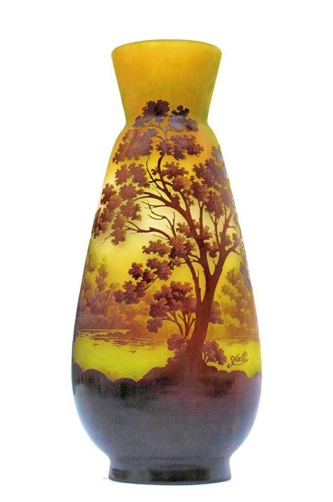 emile galle vase emile galle vase pate de verre epoque 1900 antiquites en