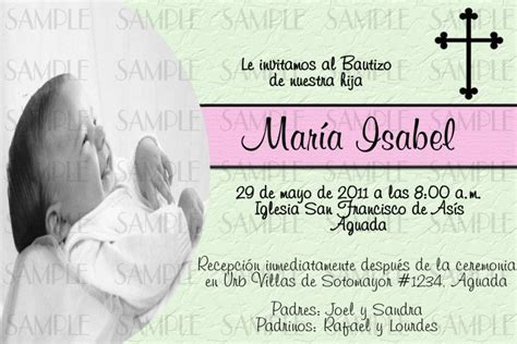 templates for baptism invitations in spanish baptism invitations in spanish baptism invitation
