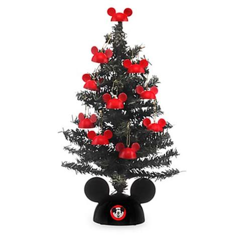 disney christmas tree hats disney tree miniature santa mickey tree with mailer