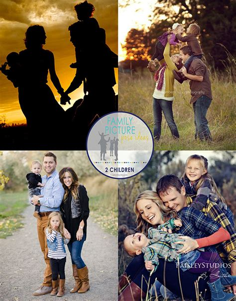 Family Picture Ideas - family picture pose ideas with 2 children capturing