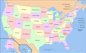 united states maps with states map of the united states in esperanto brilliant maps