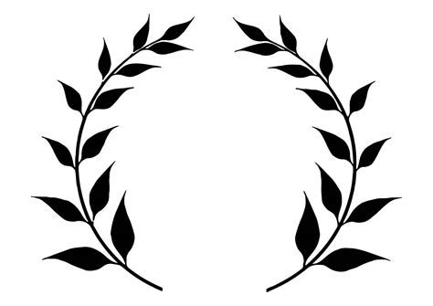 free coloring pages of laurel wreath