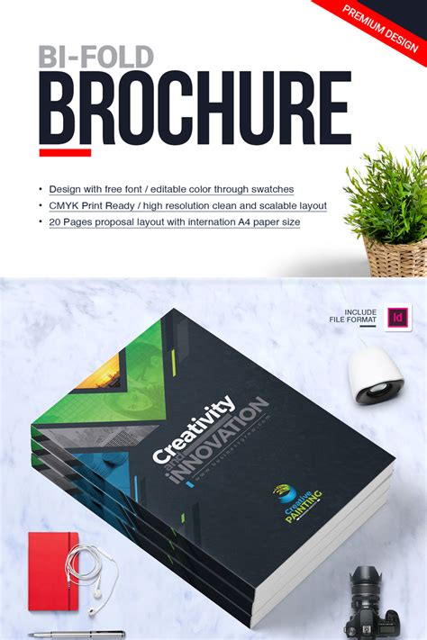 Business Brochure Design Template Indesign Brochure Company Profile Annual Report 2018 Corporate Template