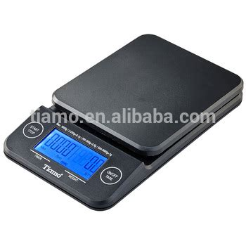 Tiamo Digital Scale With Timer Timbangan Kopi Digital Max 2kg tiamo professional weighing scale with timer hk0513bk 1 gy 1 rd 1 buy digital weighing scales