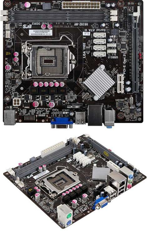 Motherboard Ecs H61h2 Mv V10 Vga 2 3