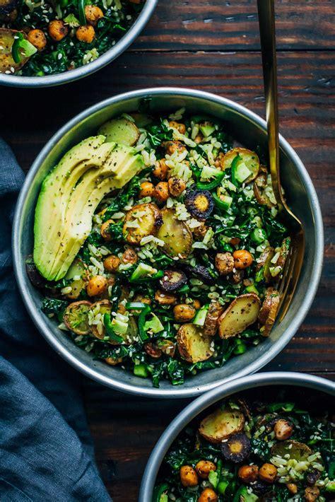 Kale Detox Salad With Pesto kale detox salad w pesto well and