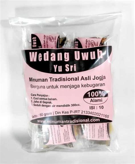 wedang uwuh yu sri isi pcs minuman tradisional