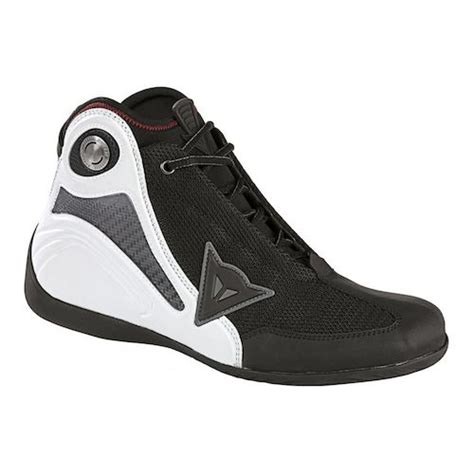 dainese shoes black white
