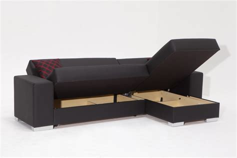 cado contemporary sectional sleeper sofa perfect