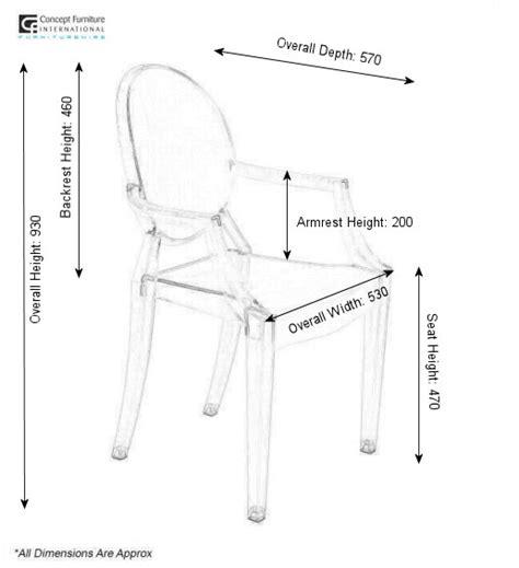 armchair measurements chair standard size cerca con google standard size