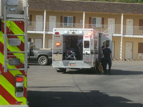 st george emergency room bleeding found outside at motel cedar city news