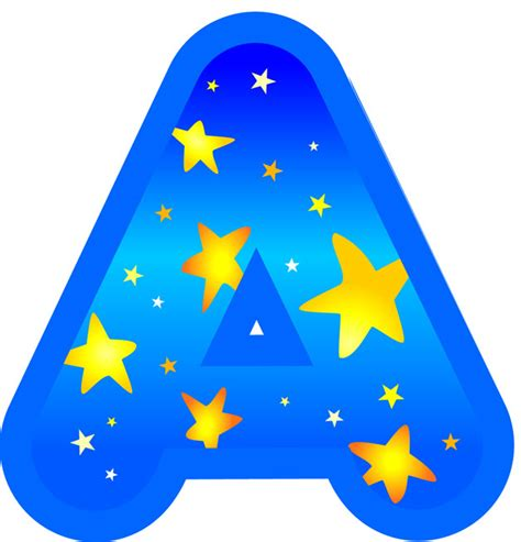 Star Wall Stickers Uk display letters and numbers star bright blue and yellow