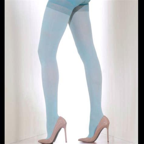 light blue leggings women free mint light blue tights pantyhose size m women s