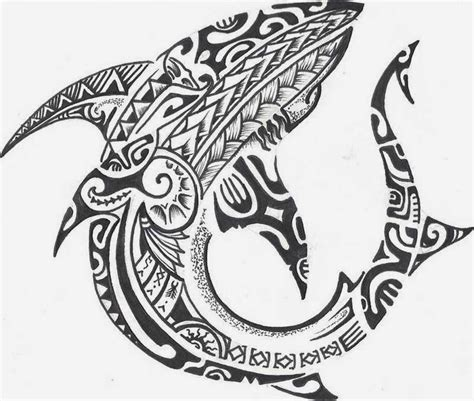 tribal shark tattoo meaning 5 tatoos cool polynesian shark designs