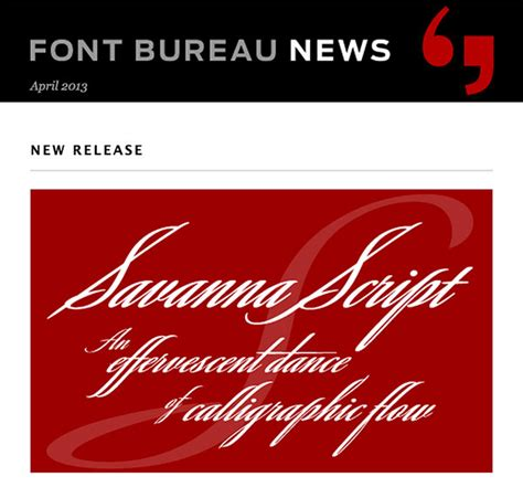 Font Newsletter Design | 9 design newsletters to stay current on type news