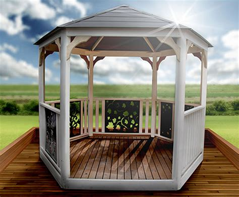 hexagon gazebo hexagonal gazebo sparite