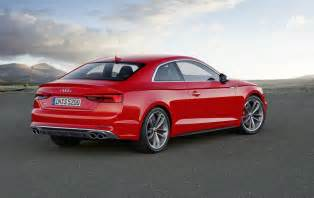 Audi A5 Pics 2017 Audi A5 S5 Unveiled New Platform Lighter Weight