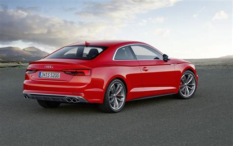 2017 audi a5 s5 unveiled new platform lighter weight
