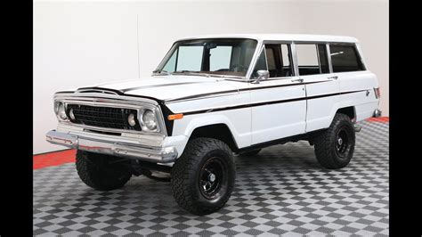 jeep wagoneer white 1978 jeep wagoneer white