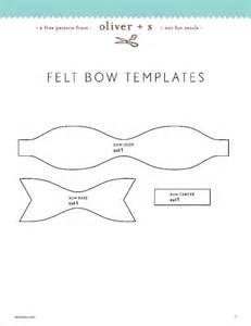 felt bow template the gallery for gt felt hair bow template