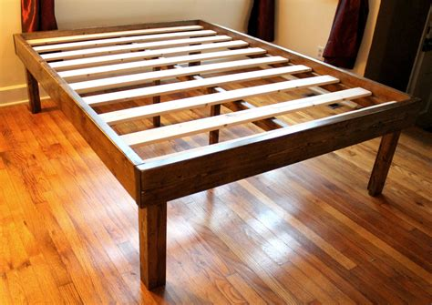 wood platform bed frame full rustic wood minimalist bed frame twin inspirations and