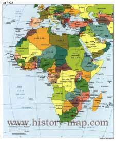 Modern Map Of Africa ap world history map viewing gallery