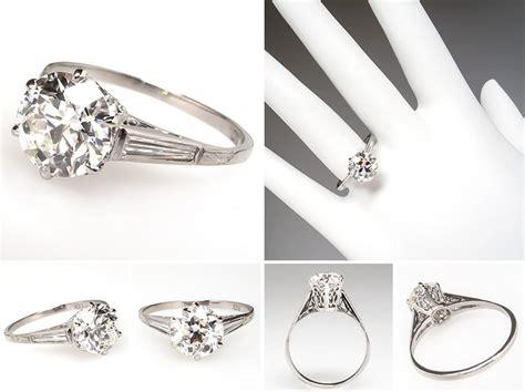 beautiful vintage wedding rings 1920 wedwebtalks