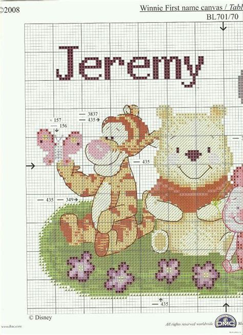 Winnie The Pooh Cross Stitch Birth Record 525 Best Cross Stitch Pooh And Friends Images On