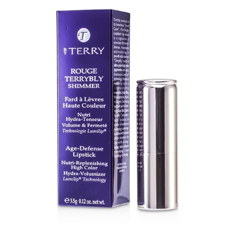 by terry or de rose age defense lift foundation 3 by terry rouge terrybly shimmer age defense lipstick