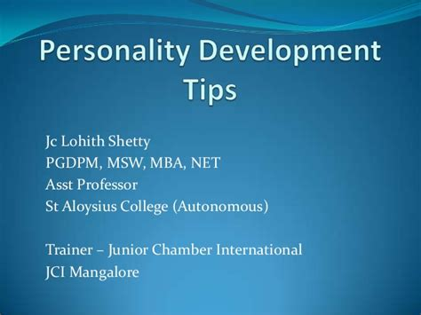 Compare Mba And Msw by Personality Development Tips
