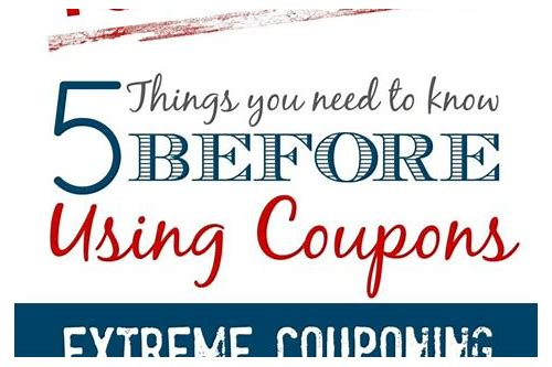 how to use coupons save money