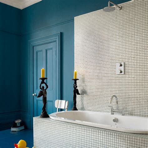 blue and white bathroom bathroom decorating ideas