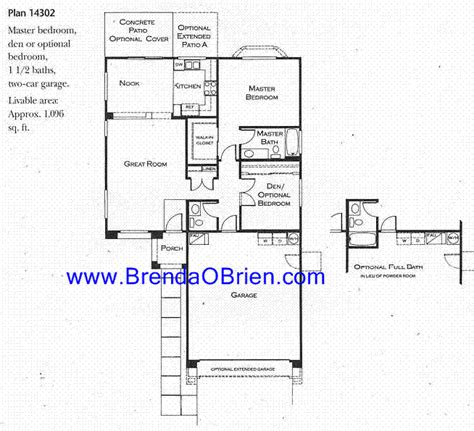 continental ranch sunflower tucson arizona sunrise floor plan