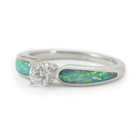 quot moonlit sea radiance quot 32ct and opal engagement
