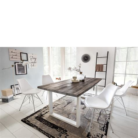 sockel esszimmertisch esstisch komfort wei 223 beton sockel in edelstahl