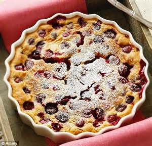 recipe: daniel boulud's cherry clafoutis | daily mail online