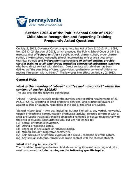 Code Section 368 by Act 126 Info Sheet 1