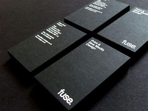 黒と白のモノクロ調でインパクトの強い名刺デザインいろいろ gigazine