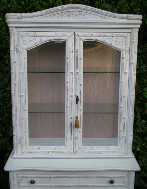 french style china cabinet french style painted display china cabinet