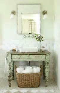 Cute shabby chic bathroom decor ideas