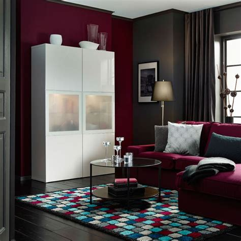 besta vitrine ein wohnzimmer mit best 197 vitrine hochglanz wei 223 einem