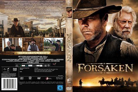With The Cover forsaken dvd cover label 2015 r2 german custom