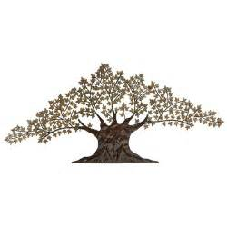 Large Metal Wall Decor by Metal Tree Wall Wayfair
