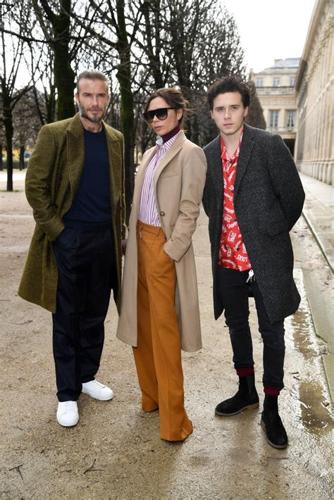 Couldnt Take The Beckham Diet by The Beckham Family At Fashion Week 2018 Popsugar